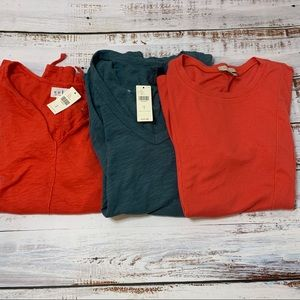 NWT Anthropologie Small Tops Bundle Tees Shirts